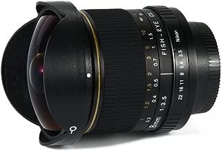 Kelda 8 mm F/3,5 apertura Ultra Wide Angle Fisheye Prime Lens para Nikon