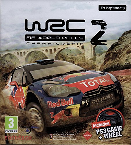 PS3 WRC 2 : FIA WORLD RALLY CHAMPIONSHIP + STEERING WHEEL (EU)