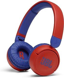 JBL JR310BTRED Kids wireless on-ear headphones-Red