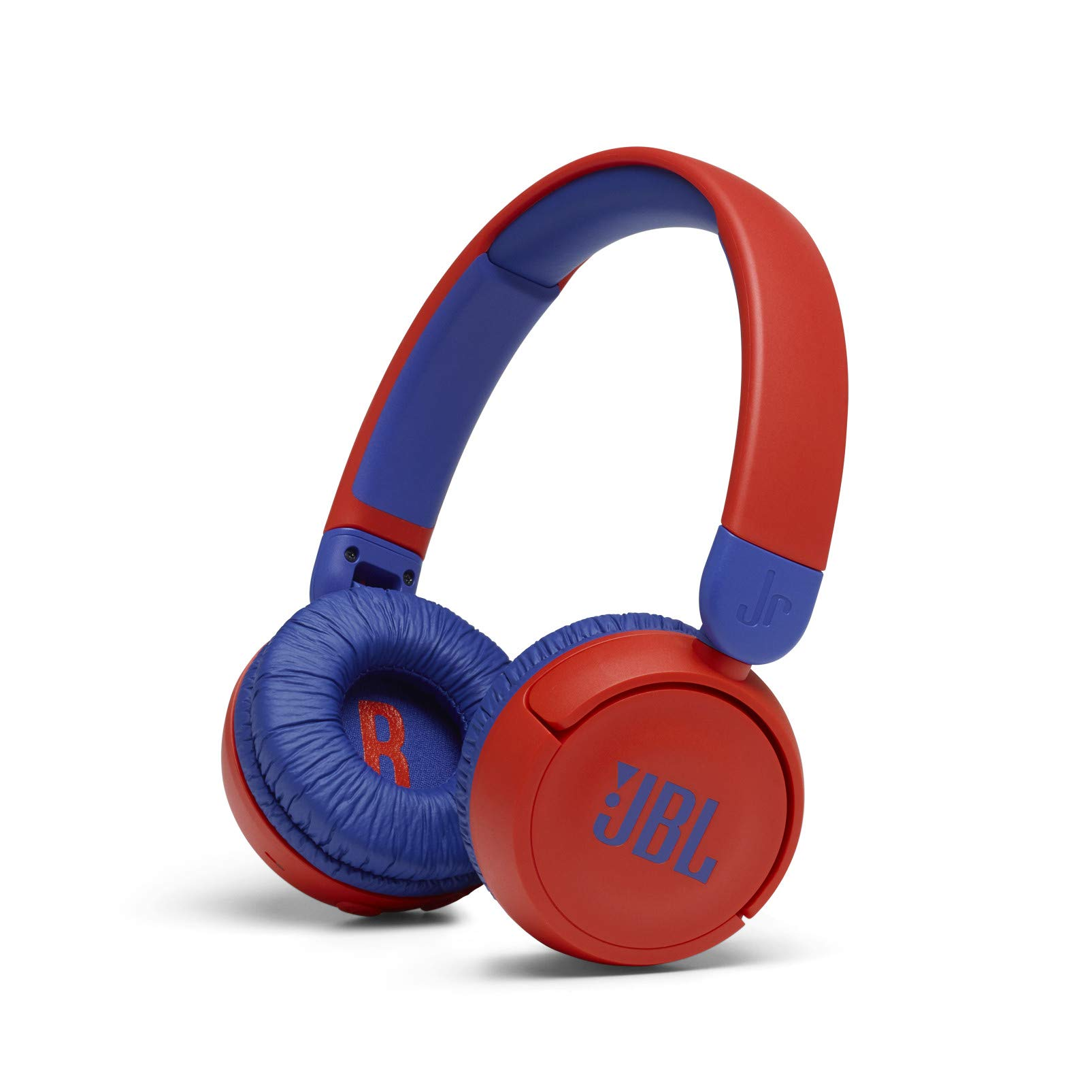 JBL Jr 310BT - Children's over-ear headphones with Bluetooth and built-in microphone, in red