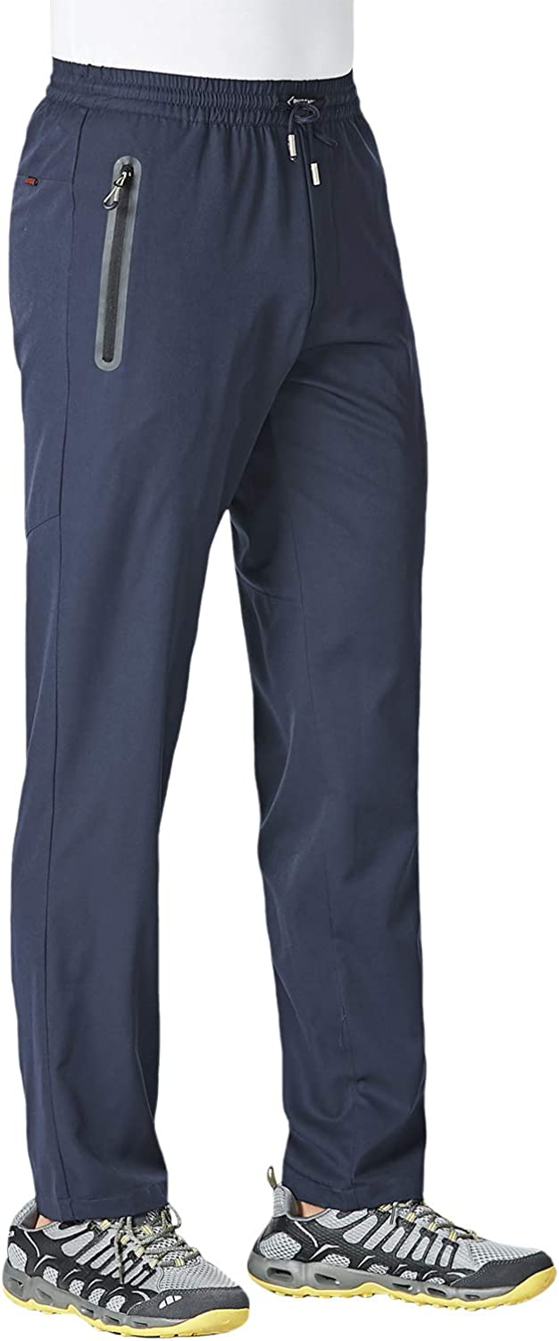 KEFITEVD Jogger Pants for Year-end San Diego Mall gift Men Dry Hiking Quick Lightweight