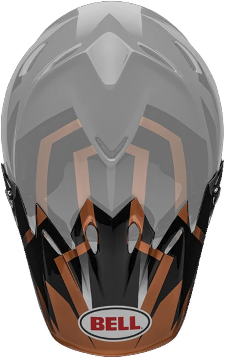 BELL Moto-9 Visor Off-Road Motorcycle - Black Accessories Helmet sold out Special Campaign
