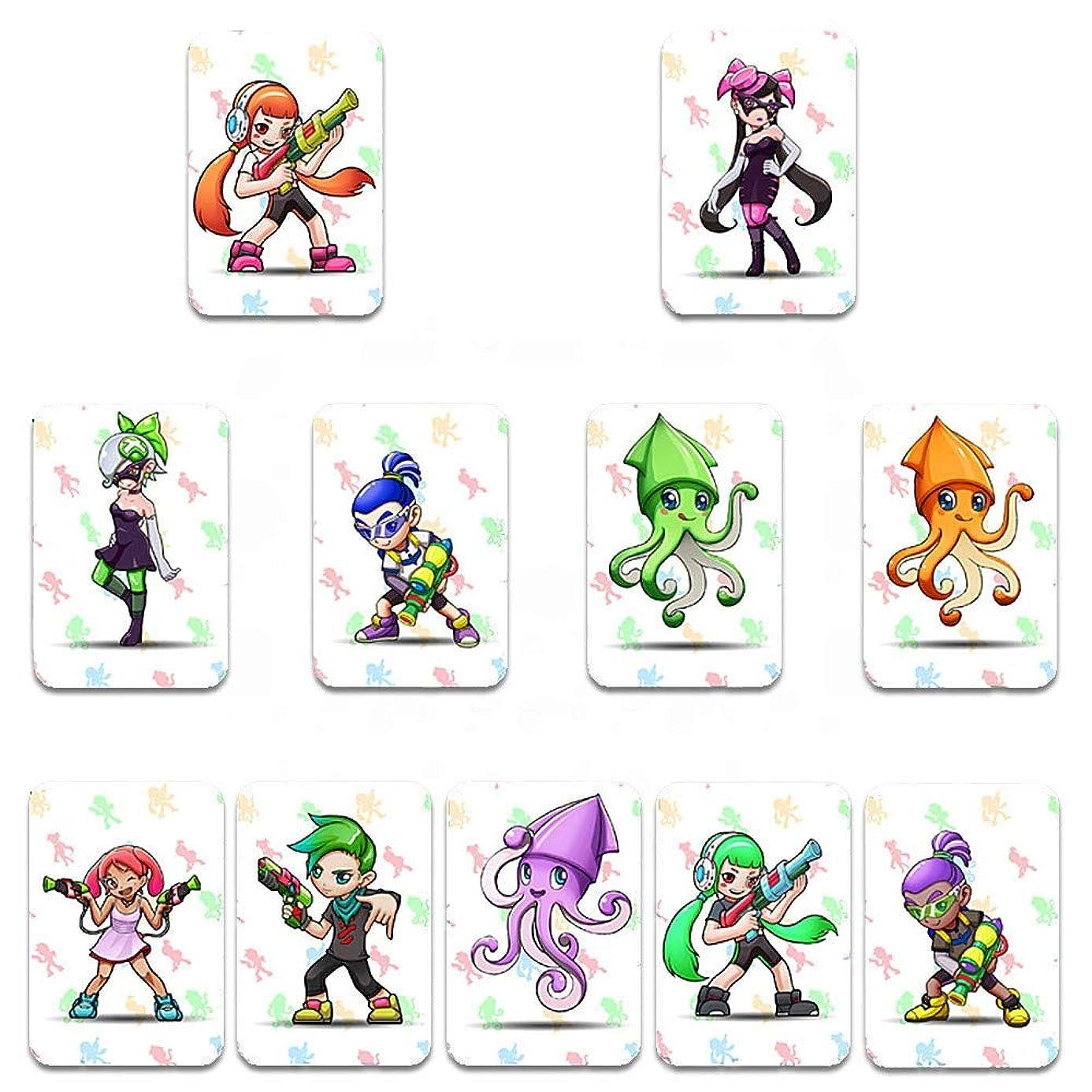 HeavenSense 11pcs NFC 215 Tag Game Cards for Switch/Wii U - Quarkscm