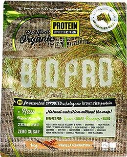 Protein Supplies Australia BioPro Sprouted Brown Rice Powder, Vanilla and Cinnamon 1 kg,, Vanilla and Cinnamon 1 kilograms