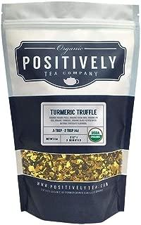 Positively Tea Company, Organic Turmeric Truffle Pu-Erh, Pu-Erh Tea, Loose Leaf, USDA Organic, 1 Pound Bag