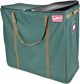 TreeKeeper Multi-Use Holiday Decoration Storage Bag with Heavy-Duty Wheels