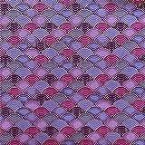 DAYI Tela de algodón Bronceado Colorida Onda Japonesa para DIY Patchwork Accesorios de Ropa Tela de Costura, 3,50x70 cm