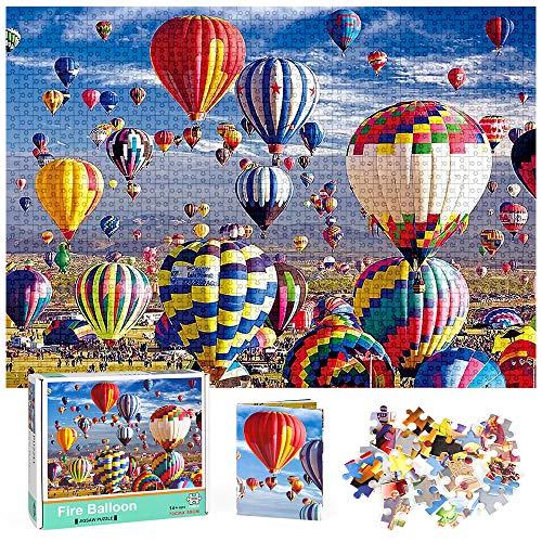 Zaloife Puzzles 1000 Piezas para Adultos, Puzzle Adultos, Puzzles de 1000 Piezas Regalo de Juguetes de Rompecabezas para Adultos Adolescentes Niños Niñas
