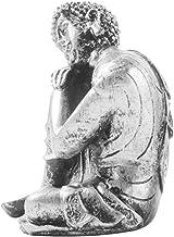 PPCP 1pc Buddha Figure Ornament Classic Unique Creative Sacred Desktop Adornment Buddha Figure Resin Decoration for Living...