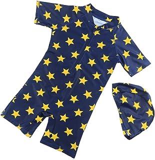 男の子の水着 子供の水着の男の子速乾性の水着ロングスリーブの水着 水着水着 (サイズ : XL)