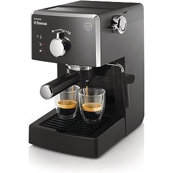Saeco HD842301 - Cafetera espresso, manual y monodosis, 15 bares ...