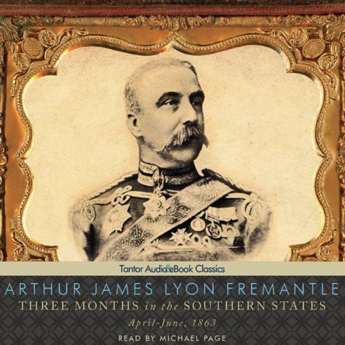 Three Months in the Southern States audiobook cover art