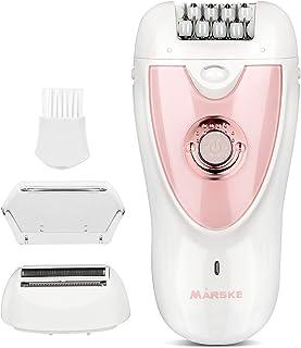 Heisens Hair Removal for Women, Epilator, 2 in 1 Epilators Hair Removal for Women, Wet & Dry,...