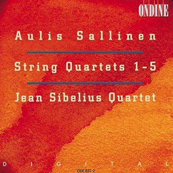 Sallinen, A.: String Quartets No. 1-5