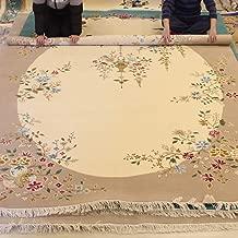 YILONG CARPET 8'x10' Vintage Handmade Wool Chinese Rug Oriental Floral Wool Living Room Rugs 8x10