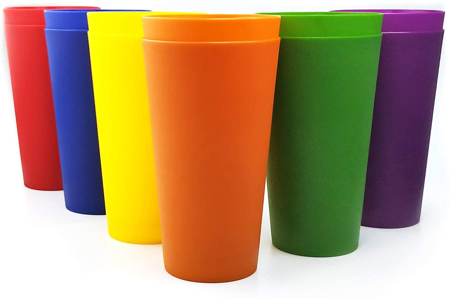 32-ounce Plastic Detroit Mall Tumblers Large Drinking Mult 12 Set Glasses of New product! New type