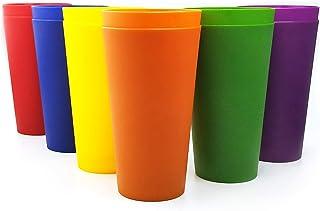Vasos de plástico grandes de 32 onzas, juego de 12
