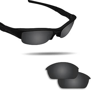 Replacement Lenses for Oakley Flak Jacket Sunglasses - Various Colors