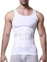 Men Bulletproof Compression Shirt Waist Trainer Body Shaper Vest Tank Tops