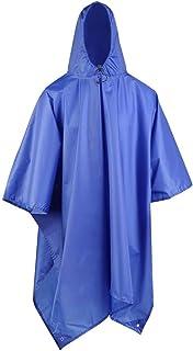 3 in 1 Outdoor Travel Raincoat Poncho Raincoat Jacket Backpack Rainproof Set AXCDE