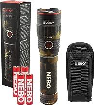 Nebo SLYDE+ 400 Lumen LED Flashlight Worklight Magnetic Base bundle with SLYDE Holster, Camo