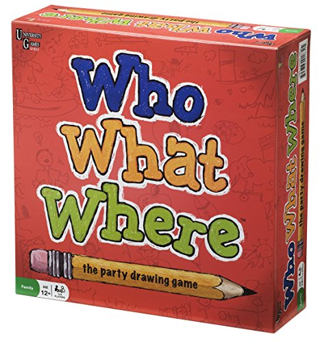 University Games Who What Where Drawing Game (Discontinued by Manufacturer)