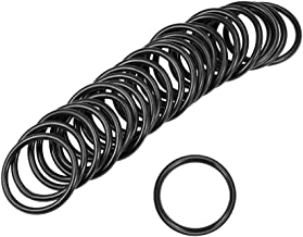 uxcell O-Rings Nitrile Rubber 25mm Inner Diameter 30mm OD 2.5mm Width Round Seal Gasket 25 Pcs