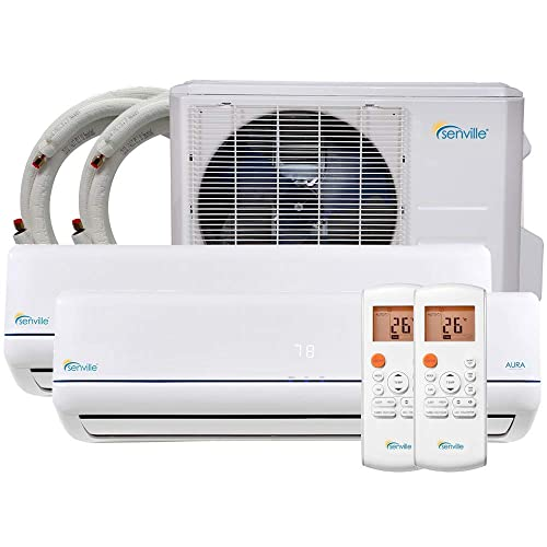 Senville SENA-18MO-209 18000 BTU Dual Zone Split Air Conditioner and Heat Pump
