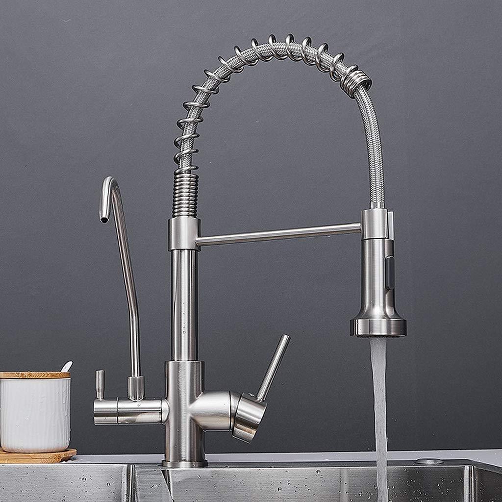Cocina Primavera Cobre Grifos de lavabo Purificador de agua Grifo ...