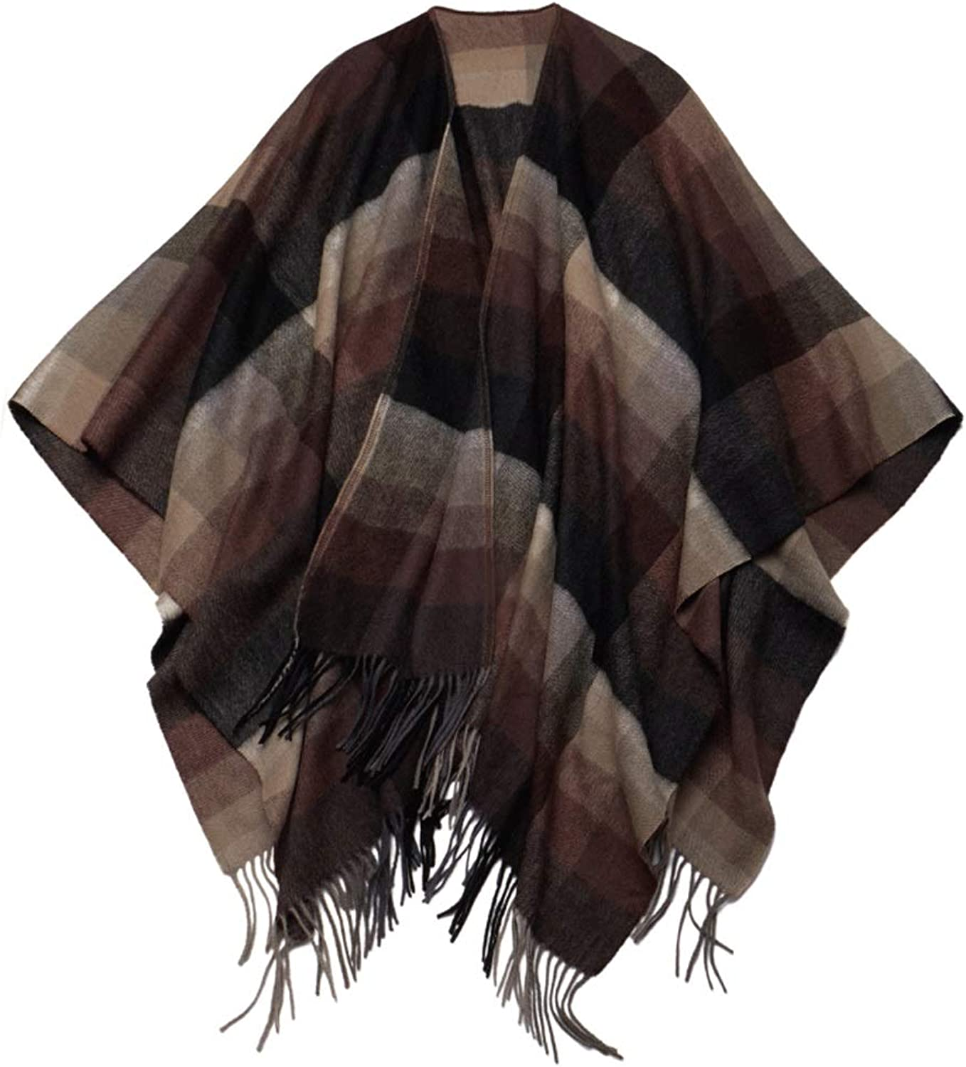 CHX Scarf Winter Keep Warm Woman Thicken Cloak Shawl Blanket 170cm×130cm V