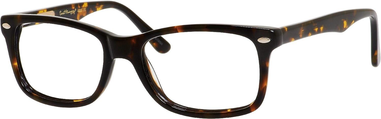 shop Ernest Hemingway Max 71% OFF Designer Eyewear Frames 53mm Tortoise H4630 in