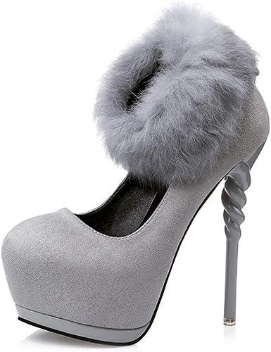 MNII Femmes Femmes Satin Kitten Heel Faible Mariée Mariée Smart Prom Party Court Chaussures Taille- Chaussures de Mode