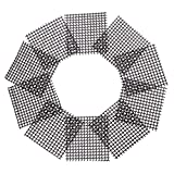 OUNONA 50Kunststoff Blumentopf Mesh Pad verhindern Boden Verlust auslaufsicher Pad korrosionsschutzes atmungsaktiv Net
