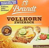 Brandt Vollkorn-Zwieback, 10er Pack (10 x 225 g Packung) -