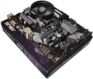 ADMI CPU tarjeta madre: AMD Ryzen 5 2600 6 Core 3,9 GHz con refrigeración AMD Wraith, ASUS Prime B450-Plus AM4 ATX, 2400 MHz DDR4 RAM 16 GB LPX 3000 MHz. Ryzen 7 2700