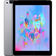Apple iPad (Wi-Fi + Cellular, 32GB) - Space Gray (Previous Model)