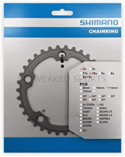 SHIMANO 105 5750 34t 110mm 10spdcompact chainring