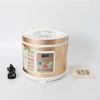 5L مخزن تخمیر سیر سیاه ظرفیت بزرگ اتوماتیک کنترل هوشمند دستگاه سیر چند حبه سیر Diy Cookware 360 درجه استریو گرمایش ثابت 90W 12-15 روز