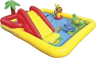 لعبة حمام السباحة مع زحليقة قابلة للنفخ شكل بحر للاطفال من انتيكس 57138