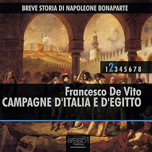 Breve Storia di Napoleone Bonaparte vol.2 audiolibro: Campagne d'Italia e d'Egitto copertina
