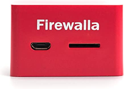 $108 Get Firewalla Red: Cyber Security Firewall for Home & Business, Protect Network from Viruses & Malware | Parental Control | Block Ads | Free VPN Server | Connects to Router | No Monthly Fee | 100Mb IPS