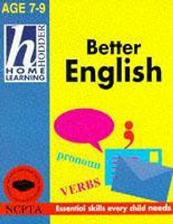 Hodder Home Learning: 7-9 Better English
