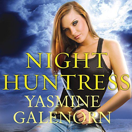 Night Huntress audiobook cover art