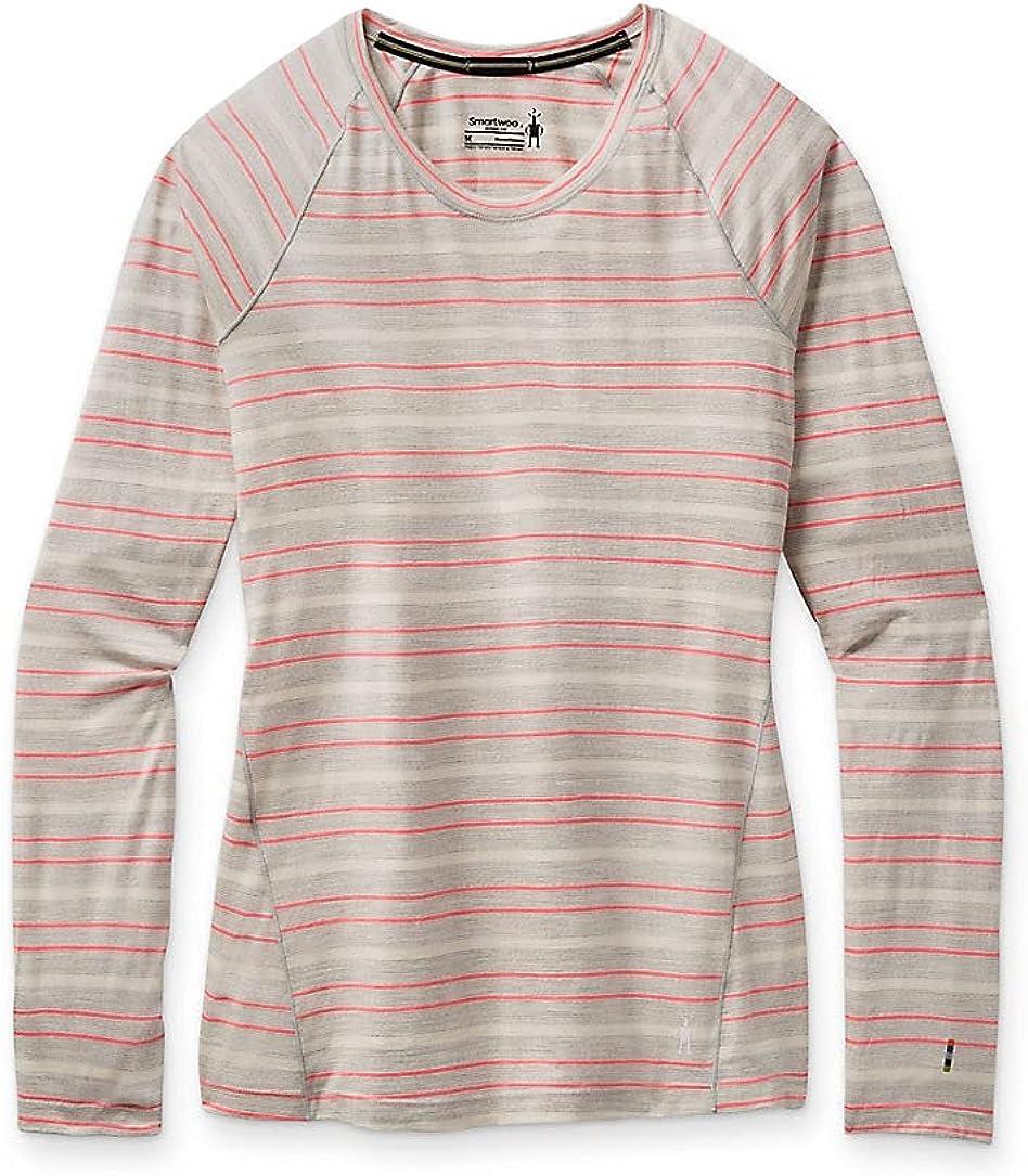 Smartwool Women's 150 Baselayer Long Sleeve Slim Fit Shirt Tea R