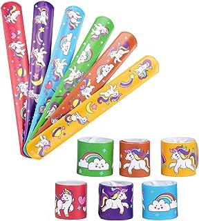 Danirora Unicorn Favors for Girls Birthday Party, Unicorn Party Favors for Kids Birthday Supplies Goodie Bag Fillers Unico...