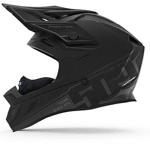 509 Altitude Carbon Fiber Helmet with Fidlock (Black Ops - Large)