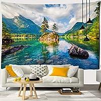 タペストリー 壁掛け おしゃれ 大判北欧 ファブリック装飾用品 装飾壁掛け部屋や窓の飾り美しい自然の景色