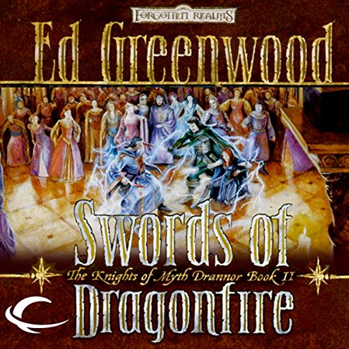 Swords of Dragonfire audiobook cover art