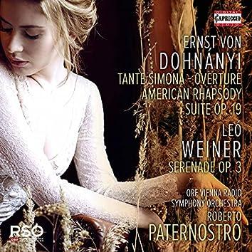 Dohnányi & Weiner: Orchestral Works