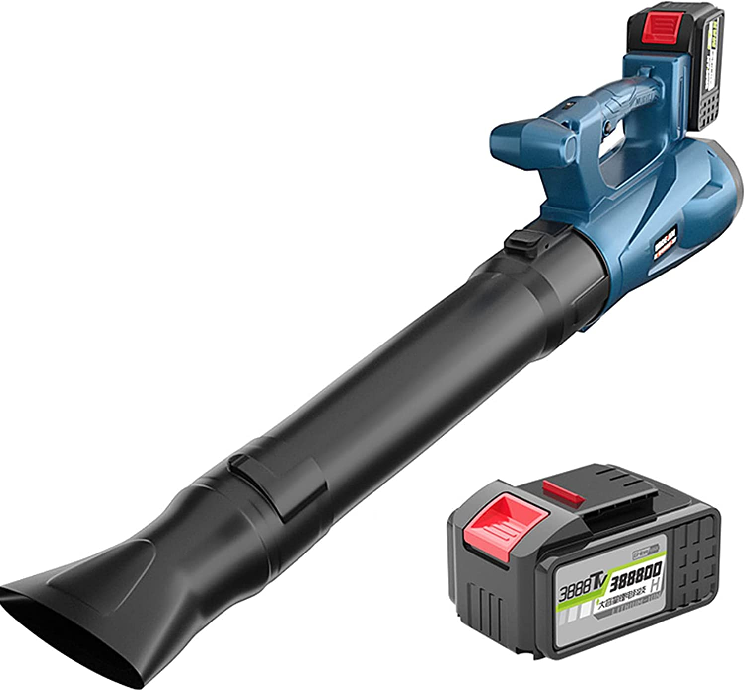 ELLENS Cordless Leaf Blower Garden with Electric Battery Fees free Indefinitely